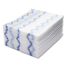 Rubbermaid Commercial HYGEN Disposable Microfiber Cleaning Cloths White/Blue 12
