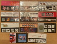 GB Stamps - Royal Mail Commemorative Presentation Packs 1991 -1993