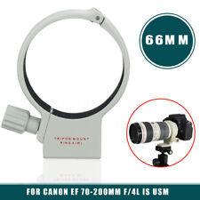 AU 66mm Metal Tripod Mount Collar Ring A(W) For Canon EF 70-200mm f/4L IS USM