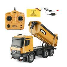 HuiNa 1573 RC Car 1/14 Trucks Metal Bulldozer Charging RTR Truck Construction Ve