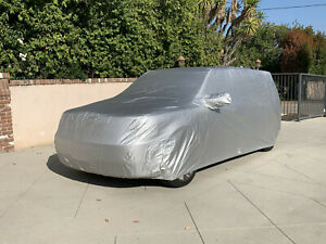 2009-2019 Ford Flex SUV Custom Outdoor Silver Intro-Guard Car Cover FDFL09