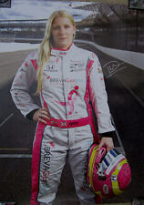 PIPPA MANN 2016 SIGNED DALE COYNE RACING 100th INDY 500 RACE POSTER