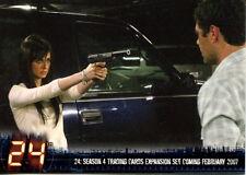 TWENTY FOUR 24 TELEVISION SHOW SEASONS 4 EXPANSION 2007 ARTBOX PROMO CARD P1