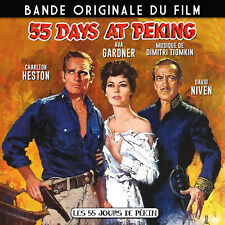 CD Bande Originale du film 55 jours de Pékin - Dimitri Tiomkin 55 days at Peking