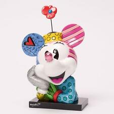 Britto Disney Minnie Mouse Multi Color Pop Art Figurine Bust Enesco 4033888 New