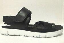 Camper Oruga Sandals Black White Leather Strappy Womens 22539-001 Size EU37/US7