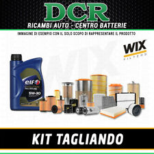 KIT TAGLIANDO RENAULT CLIO IV 1.5DCI 75 55KW DAL 11/2012 + OLIO ELF 5W30