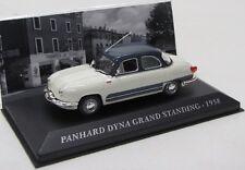 Panhard Dyno grand standing (1958) Blanc/Gris/IXO 1:43