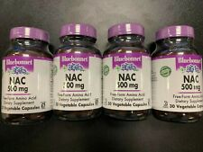 BLUEBONNET    NAC 500 MG    30 CAPSULES    4 BOTTLES