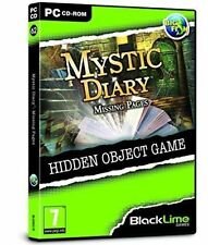 Hidden Object PC Game Black Line Games Number 62 Mystic Diary Missing Pages