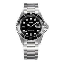 Phoibos Mens PX002C 300M Dive Watch Swiss Quartz Black Sport Watch ...