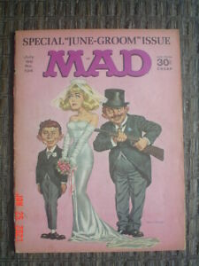 MAD MAGAZINE #104 - 1966 - E.C. COMICS - FAIR / GOOD CONDITION