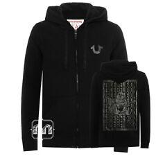 New Men True Religion Buddha Logo Full ZIP Hoodie Jacket S M L XL 2XL 3XL Jeans