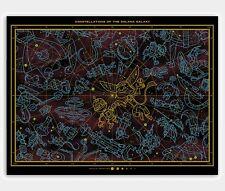 Constellations Solana Andrew Kolb Ratchet et Clank Poster print ART GITD Mondo