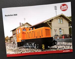 "LGB Katalog ""Neuheiten 2020"", 290 x 210 mm, 50 Seiten, Neu!"