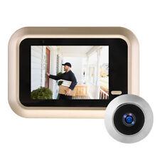 2.4 Inch LCD Digital Video Doorbell Viewer Peephole Security Door Eye