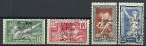 LEBANON 1923 1924 COMM STAMPS OF FRANCE OLYMPIC GAMES.MH 130$ *