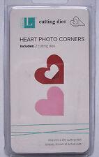 QuicKutz HEART PHOTO CORNERS DD0029 Wedding Love Romance 2 Metal Cutting Dies