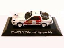 WOW EXTREMELY RARE Toyota Supra 1987 #4 Waldegard Olympus WRC 1:64 CM's Kyosho