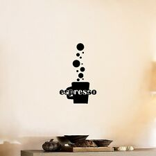 Espresso Kitchen Wall Decal Sticker Kitchen Wall Decal Sticker Art