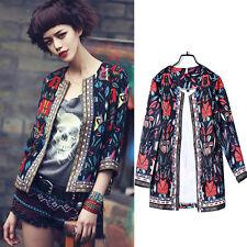 Autumn Cardigan Jackets Fashion Women Coats Ladies Outdoor Jackets Coats Cool UK