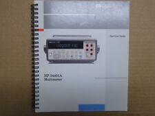 manuel Service guide pour HP 34401A multimeter (en anglais)