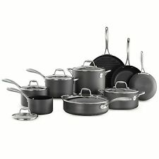 Member's Mark 15 Piece Hard Anodized Nonstick Cookware Set by Tramontina New