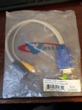 Vaster VGA TO S-Video TV DVD Adapter Cable Cord 20235