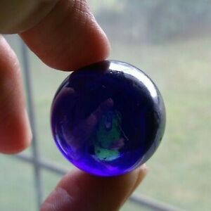 Boulder Marble Cobalt Iridescent