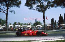 Michele Alboreto Ferrari F1/87 SAN MARINO GRAND PRIX 1987 Fotografia