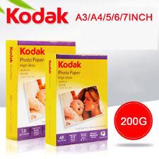 New 20Pcs/100Pcs Sheets Premium Glossy High gloss Photo Paper A4