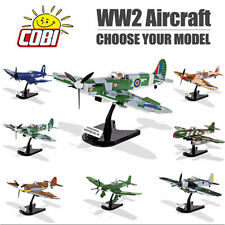 COBI WW2 Aircraft Fighters & Bombers Construction Sets - Choose your Model