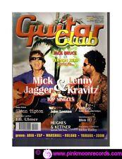 GUITAR CLUB N°2/2002 JACK BRUCE & VERNON REID MICK JAGGER & LENNY KRAVITZ