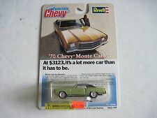 REVELL COLLECTIBLE CHEVY 1970 CHEVY MONTE CARLO NEW