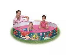 Bestway The Little Mermaid Fill'N'Fun Above Ground Pool Brand New