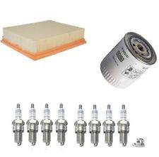 SERVICE KIT FOR LAND ROVER DISCOVERY I 3.9 LPG MANN AIR OIL FILTER SPARK PLUGS