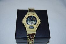 Casio G-Shock Watch DW-6900F-5 Desert Camo with new strap and bezel