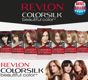 Color Revlon Colorsilk Hair Beautiful Permanent Dye Keratin Colors All Coverage