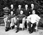1945 Photo-Potsdam Conference-Harry Truman-Clement Attlee-Joseph Stalin