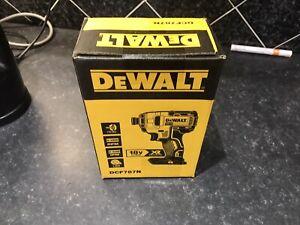 DEWALT DCF787N 18V XR Brushless Cordless Impact Driver brand new Boxed