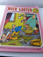 Nick Carter , sagédition 1976, collection Rire & Fou Rire (ref03)