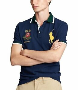 Polo Ralph Lauren (Big Pony) Classic Fit Rose Navy Men's Size Large L New NWT🔥