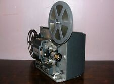 Bell & Howell 359A Super 8 Adjustable Speed Movie Projector in Box  ~Serviced~
