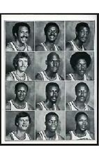 1977 76ers Yearbook~Julius Erving~George McGinnis~Doug Collins~World B Free~++++