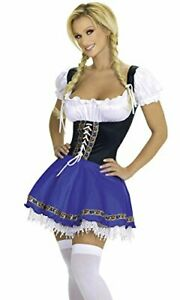 Top Totty Scotland Beer Girl Oktoberfest Bavarian Austrian Serving wench Costume