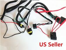 Xenon H4 9003 HID Relay Wiring Harness Hi/Lo Controller high Low Conversion Kit