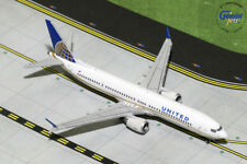 GEMINI JETS UNITED AIRLINES BOEING 737 MAX-9 1:400 DIECAST GJUAL1784 IN STOCK