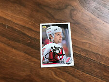 92/93  Upper Deck Jimmy Carson Detroit Red Wings Autographed Hockey Card