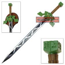 Legend of Zelda Lokomo Sword Spirit Tracks Steel Replica Full Tang Blade Wood