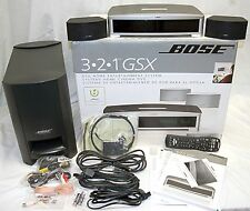 Bose 3-2-1 GSX III 3 DVD Home Theater System BLACK Set 2.1-Speakers/Sub 321 HDMI
